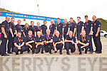 Members of The Ballybunion Sea and Cliff Rescue Service celebrating 25 years of loyal service, pictured here last Sunday in Ballybunion beach. F l-r: Killian Lynch, Joby Costello, Jim Enright, Mike Flahive, TJ McCarron, Frank O Connor and John Walsh. B l-r: Mike Ryan, Omar Fitzell, Emmet Lynch, Zena Ryan, Liam Mulvihill, Grace Flahive, Mark Enright, Mike Enright, Josh Kelly, Pj O Gorman, Gearoid O Connor, Paul O Connor, Jonathan Mahoney and Patrick Ryan.