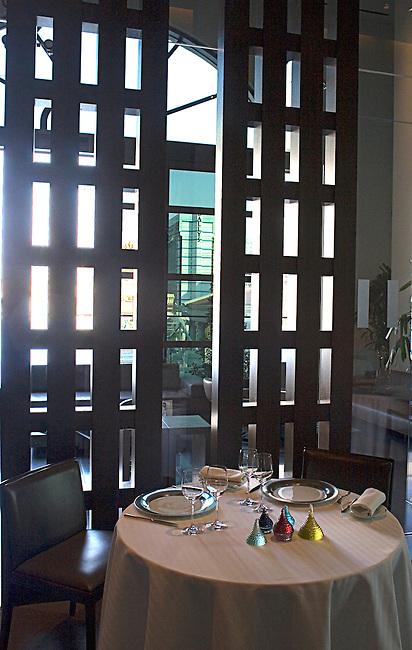 Table Setting, Guy Savoy Restaurant, Las Vegas, Nevada