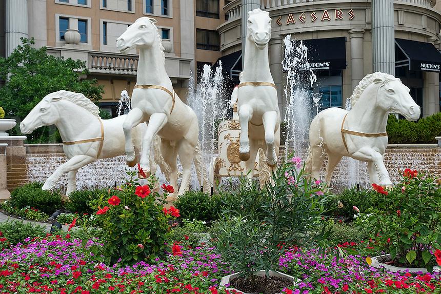 Ceasaars Casino exterior, Atlantic City, New Jersey, USA