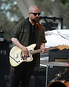 MIAMI FL - JUNE 26: Andy MacFarlane of The Twilight Sad performs at Bayfront Park Amphitheater on June 26, 2016 in Miami, Florida. Photo by Larry Marano © 2016