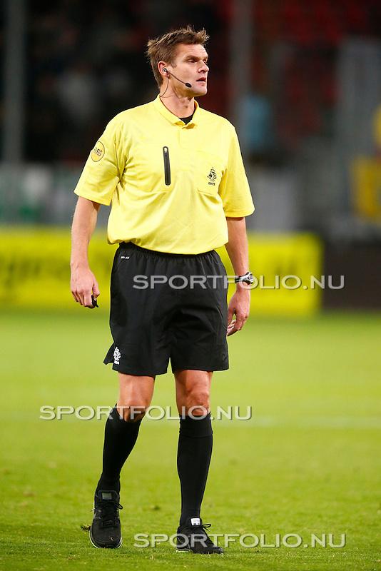 Nederland, Utrecht, 26 oktober 2012.Eredivisie.Seizoen 2012-2013.FC Utrecht-FC Groningen (1-0).Scheidsrechter Eric Braamhaar
