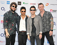 Stereophonics at the Nordoff Robbins O2 Silver Clef Awards 2018, Grosvenor House Hotel, Park lane, London, England, UK, on Friday 06 July 2018.<br /> CAP/CAN<br /> &copy;CAN/Capital Pictures
