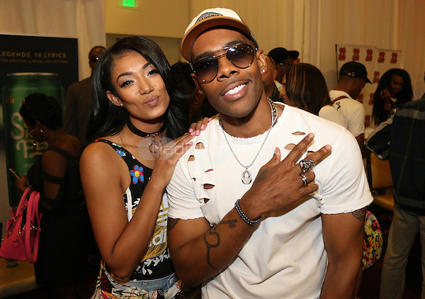 LOS ANGELES, CA - JUNE 24, 2016  Mila J & Mario attend the BET Awards Remote Radio Room Day 1 at The JW Marriot in Los Angeles, CA. Photo Credit: Walik Goshorn / Media Punch