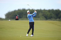 Lasse Jensen (DEN) plays second shot to he 2nd during Round Two of the 2015 Nordea Masters at the PGA Sweden National, Bara, Malmo, Sweden. 05/06/2015. Picture David Lloyd | www.golffile.ie