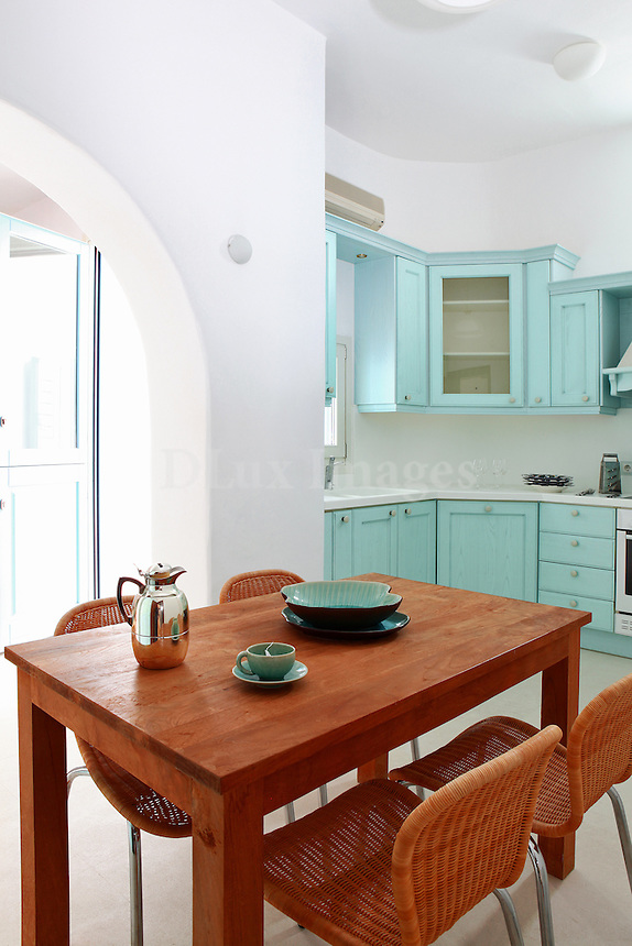 traditional kitchen with eating area