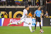 East Rutherford, NJ - Friday June 17, 2016: Dayro Moreno during a Copa America Centenario quarterfinal match between Peru (PER) vs Colombia (COL) at MetLife Stadium.