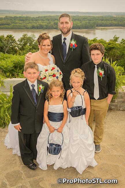 A&J wedding - posed color photos