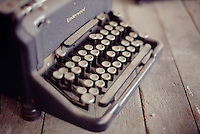 Short Focus Photo of an old Underwood Typewriter