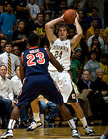 Ricky Kreklow of California controls the ball during the game against Pepperdine at Haas Pavilion in Berkeley, California on November 13th, 2012.  California defeated Pepperdine, 79-62.
