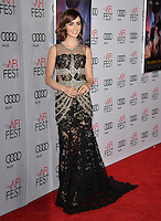 LOS ANGELES, CA. November 10, 2016: Actress Lily Collins at World Premiere of &quot;Rules Don't Apply&quot;, part of the AFI Fest 2016, at the TCL Chinese Theatre, Hollywood.<br /> Picture: Paul Smith/Featureflash/SilverHub 0208 004 5359/ 07711 972644 Editors@silverhubmedia.com