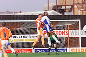 23/09/2000 Football League Division 3 Blackpool v Chesterfield<br /> <br /> 38194 Morrison header<br /> <br /> © Phill Heywood