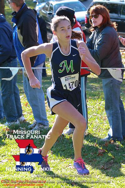 Marquette freshman Danielle Mohrmann 12th.