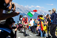 Picture by Alex Whitehead/SWpix.com - 30/09/2018 - Cycling - UCI 2018 Road World Championships - Innsbruck-Tirol, Austria - Elite Men's Road Race. Kasper Asgeen of Denmark.
