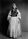 Iran 1967.Badri Khan, Wife of Ghader Beg Nemati, in a traditionnal costume of the Herki tribe.Iran 1967.Badri Khan , femme de Ghader Beg Nemati, en costume Herki