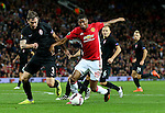 Marcus Rashford of Manchester United attacks during the UEFA Europa League match at Old Trafford Stadium, Manchester. Picture date: September 29th, 2016. Pic Matt McNulty/Sportimage