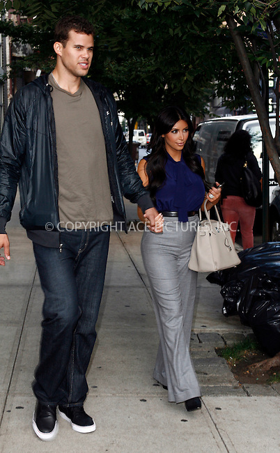 WWW.ACEPIXS.COM . . . . .  ....September 20 2011, New York City....Kim Kardashian and Kris Humphries out in midtown Manhattan on September 20 2011 in New York City....Please byline: CURTIS MEANS - ACE PICTURES.... *** ***..Ace Pictures, Inc:  ..Philip Vaughan (212) 243-8787 or (646) 679 0430..e-mail: info@acepixs.com..web: http://www.acepixs.com