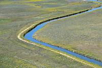 Irrigation ditch. Adams County, Colorado. Aug 2014,  812935