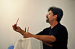 Holding pencils as an object lesson, Stoyan Stalev preaches in the United Methodist Church in the largely Roma neighborhood of Gorno Ezerovo, part of the Bulgarian city of Burgas. Yet residents here don't self-identify much as Roma, because of the negative connotations associated with the word, so many refer to themselves as a Turkish-speaking minority.