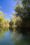 The serene and scenic Ord River, The Kimberley, Western Australia