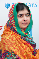 Malala Yousafzai at the We Day UK 2014 at Wembley Arena,  London. 07/03/2014 Picture by: Dave Norton / Featureflash