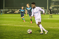 Monday  19 December 2016<br /> Pictured: Nathan Dyer of Swansea City <br /> Re: Swansea City U23 v Middlesbrough u23 at the Landore Training Facility, Swansea, Wales, UK