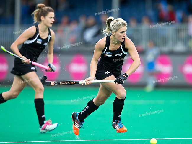 23/06/2015<br /> HWL Semi Final Antwerp Belgium 2015<br /> New Zealand v India Women<br /> Gemma Flynn<br /> Photo: Grant Treeby