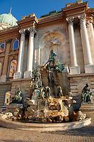 Matthias Fountain, Buda Castle, Budapest, Hungary