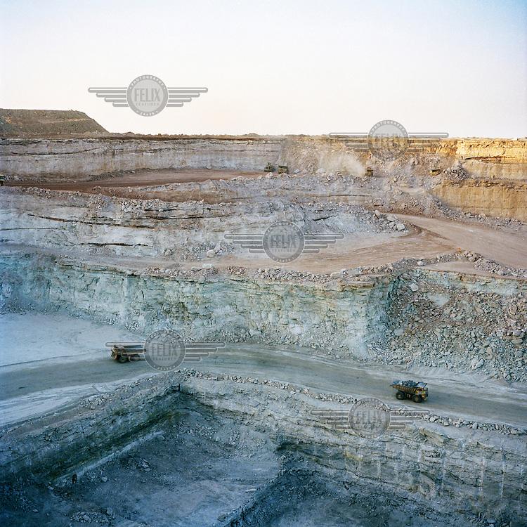 Uranium mine in Arlit, northern Niger