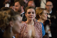 Elizabeth Olsen at the The Square premiere for at the 70th Festival de Cannes.<br /> May 20, 2017  Cannes, France<br /> Picture: Kristina Afanasyeva / Featureflash