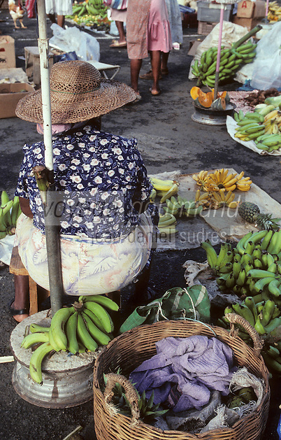 France/DOM/Martinique/Fort de France : Le marché