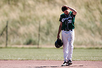 04 July 2010: Keenan Schlegel, Cougars Montigny, little league, championnat Cadets, Ronchin, France.
