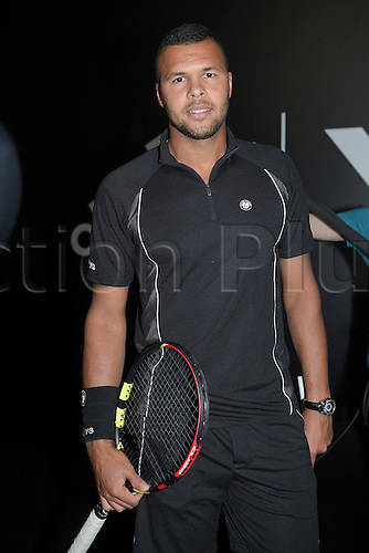 21.05.2015. Hôtel Salomon de Rothschild , Paris, France. Adidas launch of new clothing for the upcoming Roland Garros tennis tournament.  Jo Wilfried Tsonga
