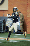 Wake Forest Demon Deacons wide receiver James Sriraman (25) warms-up prior to the game against the Rice Owls at BB&T Field on September 29, 2018 in Winston-Salem, North Carolina. The Demon Deacons defeated the Owls 56-24. (Brian Westerholt/Sports On Film)