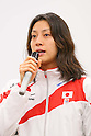 Aya Terakawa, APRIL 21, 2013 : The Building up Team Japan 2013 for Sochi at Ajinomoto NTC, Tokyo, Japan. (Photo by AFLO SPORT)