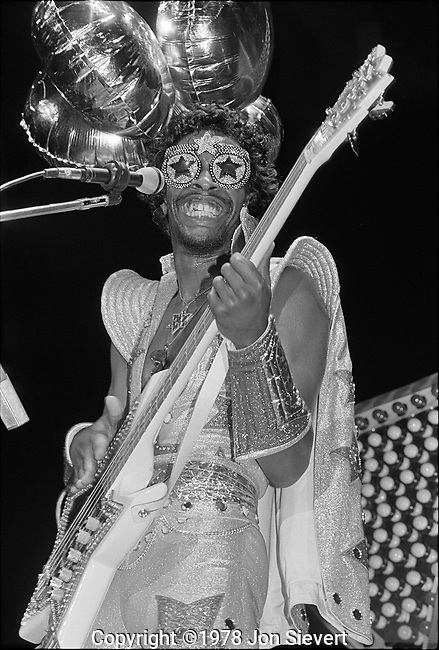 Bootsy Collins, June 2,1978, Oakland Coliseum Arena, Oakland,CA,35-19-3