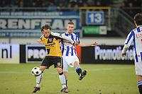 VOETBAL: SC HEERENVEEN: Abe Lenstra Stadion, 17-02-2012, SC-Heerenveen-NAC, Eredivisie, Eindstand 1-0, Arnold Kruiswijk, Robbert Schilder, ©foto: Martin de Jong.