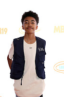 LOS ANGELES - JUL 27:  Miles Brown at the 3rd Annual MBJAM19 at the Dave & Busters on July 27, 2019 in Los Angeles, CA