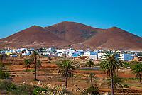 Spanien, Kanarische Inseln, Fuerteventura, Tuineje: Ort im Innern der Insel | Spain, Canary Island, Fuerteventura, Tuineje: village