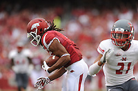 NWA Media/ANDY SHUPE - Arkansas Nicholls during play Saturday, Sept. 6, 2014, at Razorback Stadium in Fayetteville