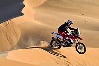 12th January 2020, Riyadh, Saudi Arabia;  14 Sanz Laia (esp), KTM, KTM Factory Racing Team,  Bike, during Stage 7 of the Dakar 2020 between Riyadh and Wadi Al-Dawasir, 741 km - SS 546 km, in Saudi Arabia  - Editorial Use