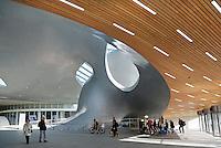 Nederlad Arnhem 2015 10 31.  Het nieuwe Centraal Station in Arnhem.  Het gebouw is een ontwerp van UNStudio. Foto Berlinda van Dam / Hollandse Hoogte