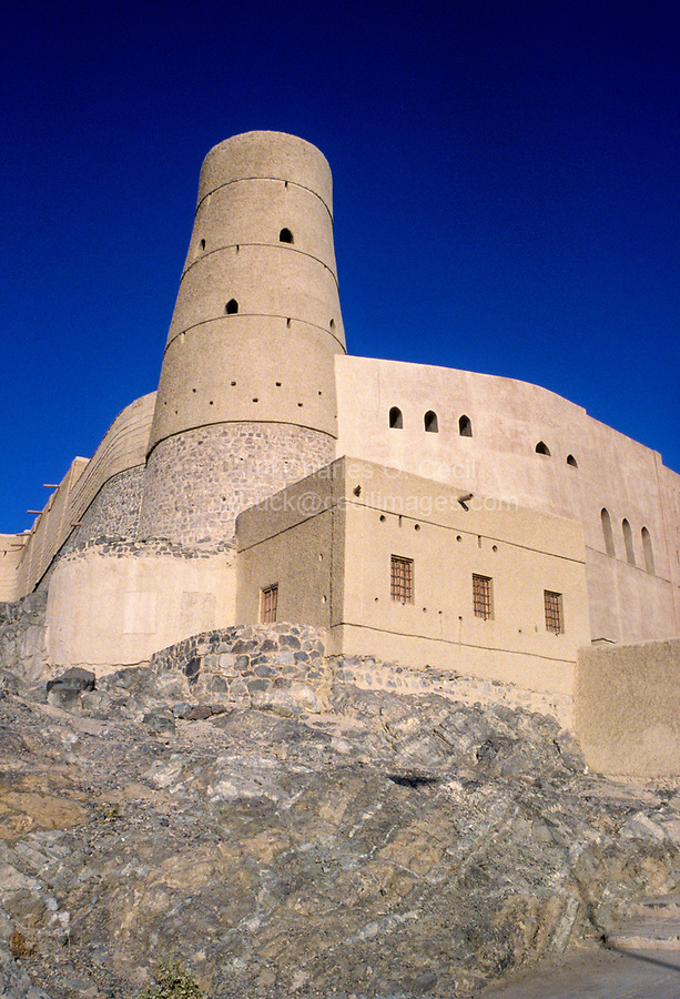 Bahla, Oman.  Part of the Reconstructed Fort.