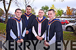 Ciaran Ryan , Joseph Walsh , Liam Jones , James Gain (Kerry).  Renewable Energy.At the Institute of Technology Tralee at the Autumn Confirming of Awards Ceremony at the Brandon Hotel on Friday