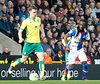 Blackburn Rovers' Marvin Emnes chases down Norwich City's Jonathan Howson<br /> <br /> Photographer David Shipman/CameraSport<br /> <br /> The EFL Sky Bet Championship - Norwich City v Blackburn Rovers - Saturday 11th March 2017 - Carrow Road - Norwich<br /> <br /> World Copyright &copy; 2017 CameraSport. All rights reserved. 43 Linden Ave. Countesthorpe. Leicester. England. LE8 5PG - Tel: +44 (0) 116 277 4147 - admin@camerasport.com - www.camerasport.com