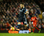 Nicolas Otamendi of Manchester City in action - English Premier League - Liverpool vs Manchester City - Anfield Stadium - Liverpool - England - 3rd March 2016 - Picture Simon Bellis/Sportimage