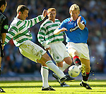 Egil Ostenstad, remember him..? Old Firm action with Chris Sutton in October 2003