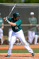 Chicago State University Cougars second baseman William Munoz #16 during a game against the St. Bonaventure Bonnies at South County Regional Park on March 3, 2013 in Punta Gorda, Florida.  (Mike Janes/Four Seam Images)