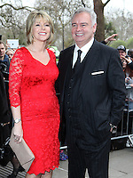Ruth Langsford and Eamonn Holmes arriving for the TRIC Awards 2014, at Grosvenor House Hotel, London. 11/03/2014 Picture by: Alexandra Glen / Featureflash