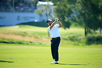 Graeme McDowell (NIR) during the first round of  The Northern Trust, Liberty National Golf Club, Jersey City, New Jersey, USA. 08/08/2019.<br /> Picture Michael Cohen / Golffile.ie<br /> <br /> All photo usage must carry mandatory copyright credit (© Golffile | Michael Cohen)