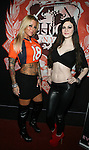Adult Actresses Britney Shannon and Kendall Karson at The Ultimate Super Bowl Party Hosted by Lisa Ann, Jayden James and Britney Shannon at Headquarters Gentlemen's Club, NY